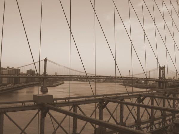 View from Brooklyn Bridge - 2