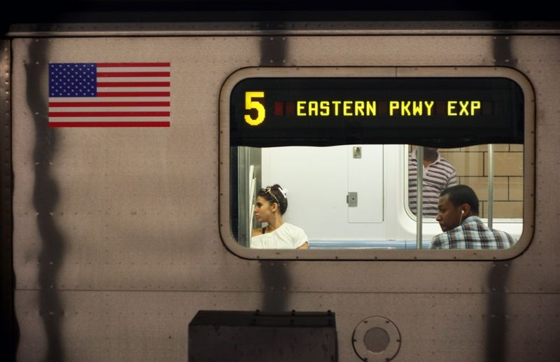 Subway New york métro photo martin gervereau