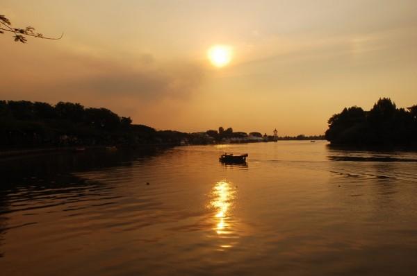 Sunset at Sungai Sarawak