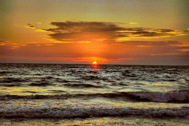 Sunset at Sungai Pagar, Wilayah Persekutuan Labuan
