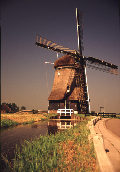 europe amsterdam windmill holland オランダー アムステルダム 風車