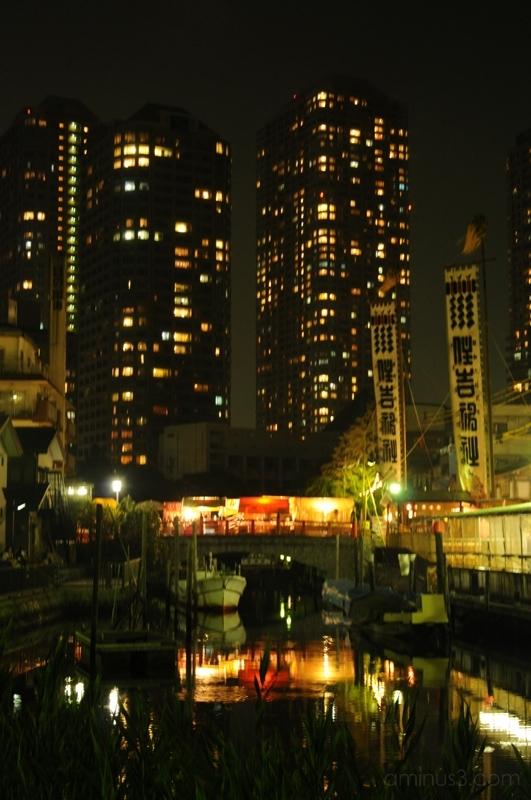 月島 祭 ビル tsukishima festival matsuri tokyo 東京 water