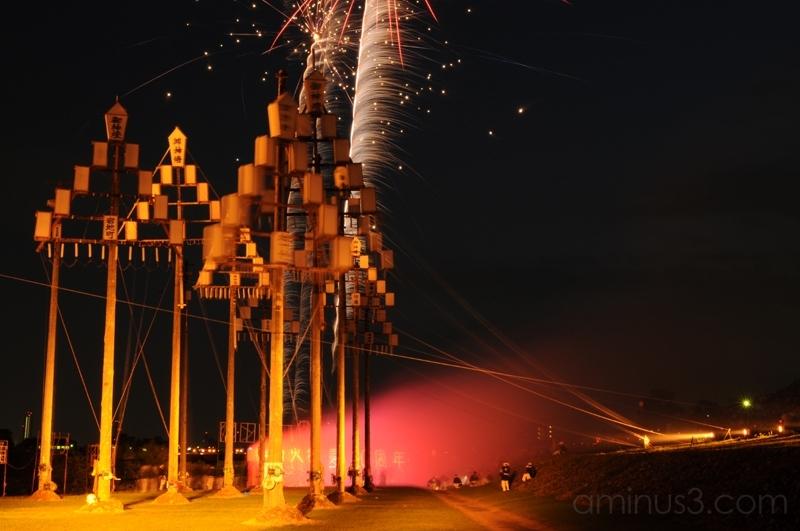 gifu fire festival 岐阜 火 祭