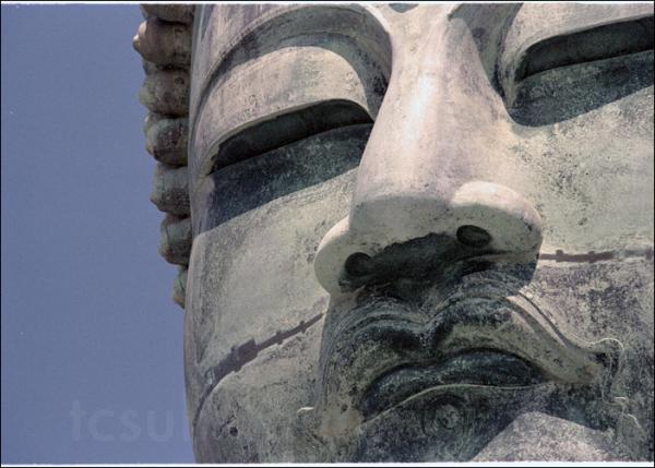Bronze statue of Amida Buddha 鎌倉 仏 大仏