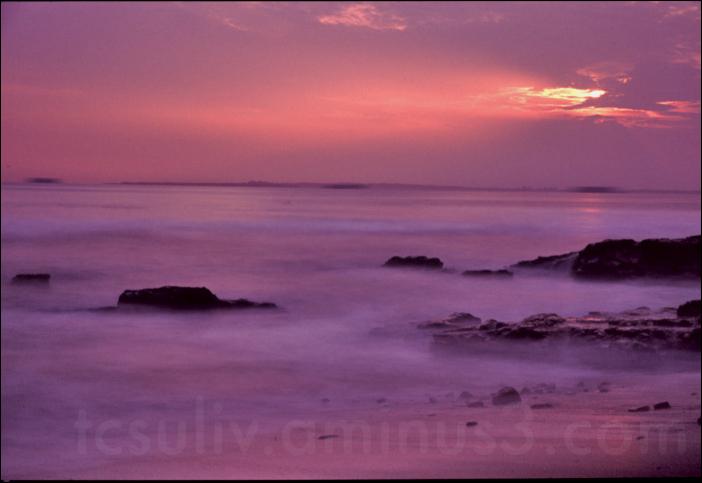 sea chiba ocean sunset 海 千葉 夕焼け