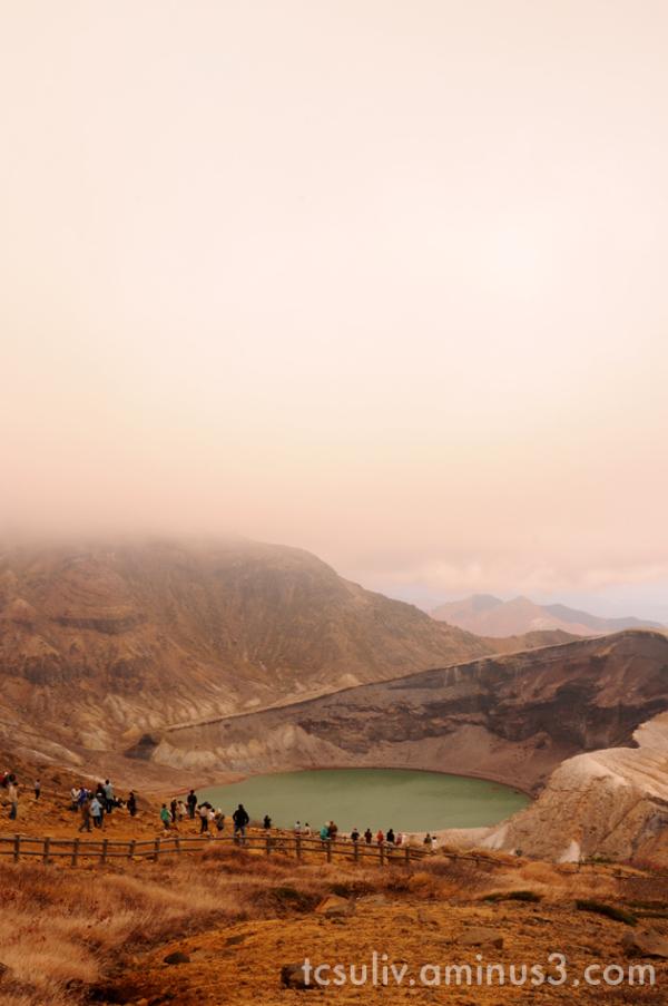 五色沼 蔵王 caldera zao yamagata 山形 カルデラ 火山 okama
