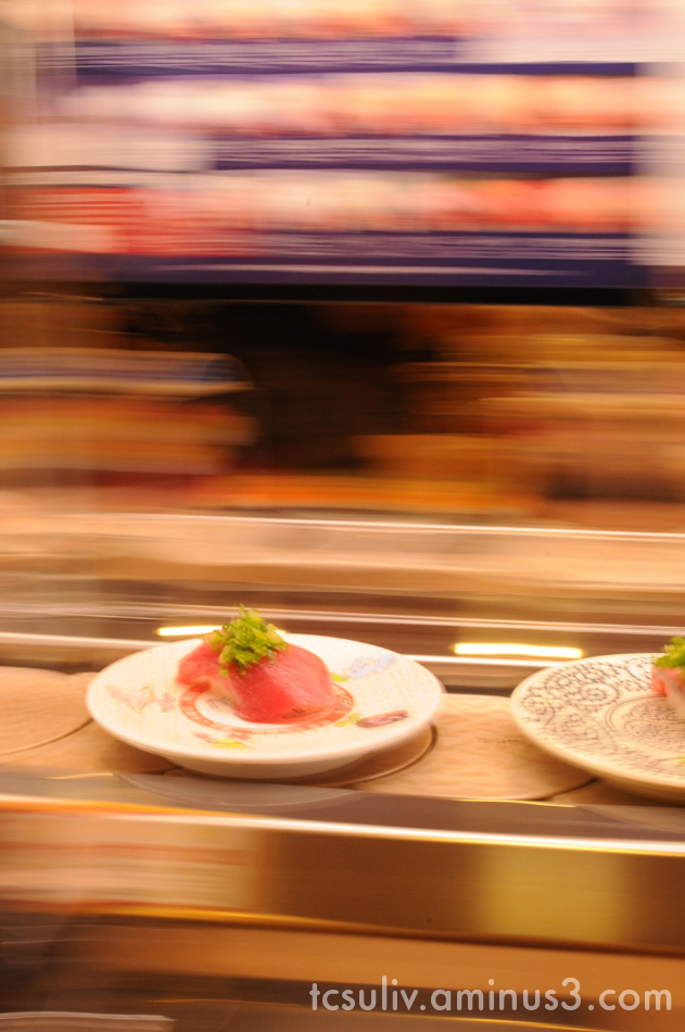 sushi train food tokyo fish すし 寿司 魚 上野