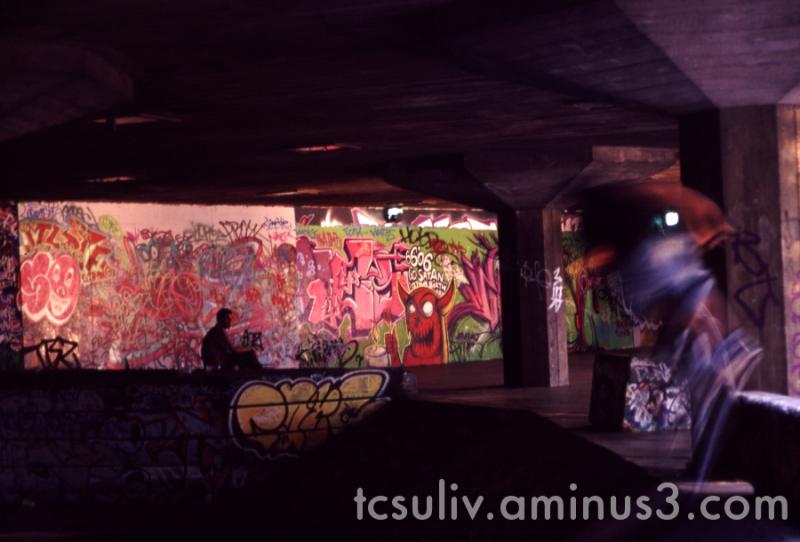 uk london europe graffiti 壁画 ロンドン skateboarding 落書