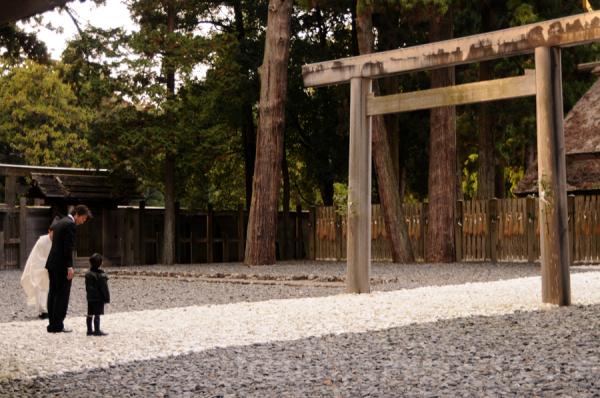 ise shrine tori 3-5-7 七五三 ise 寺 伊勢 鳥居