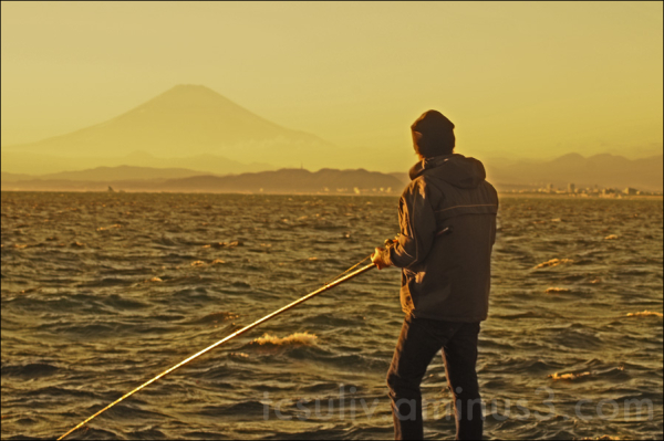 marine fishing see mt fuji kamakura enoshima 鎌倉 富士
