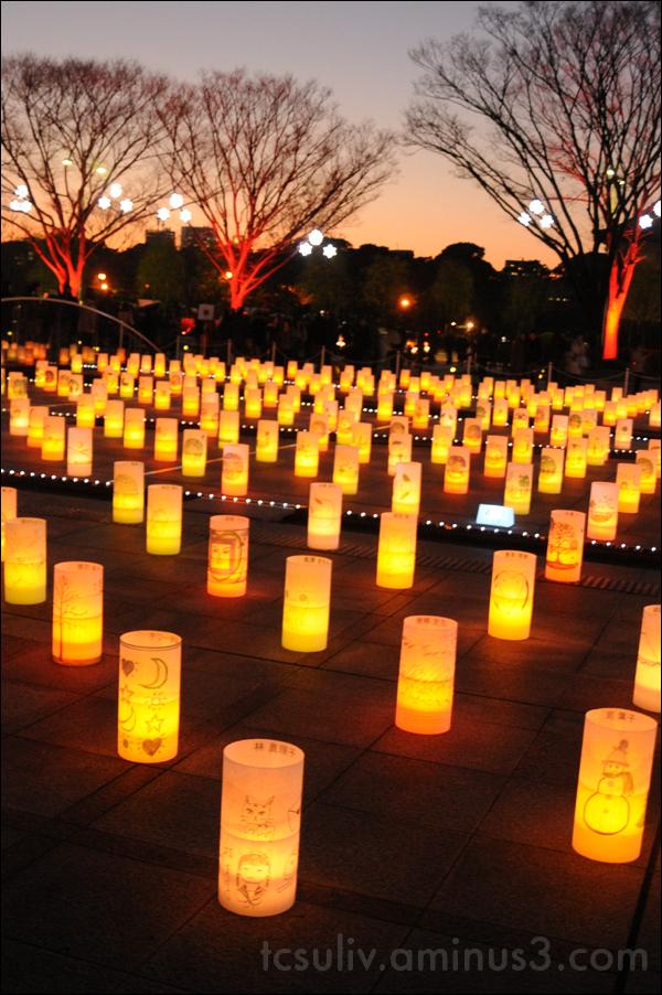 light tokyo lantern 東京 提灯 ランターン 和田倉噴水公園