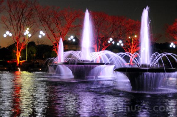 fountain park tokyo japanese wallpaper 1280x1024