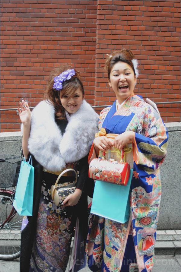 kawaii cute geisha kimono school girl 着物 女