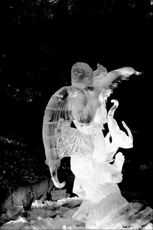 ice sculpture harajuku 原宿 氷像