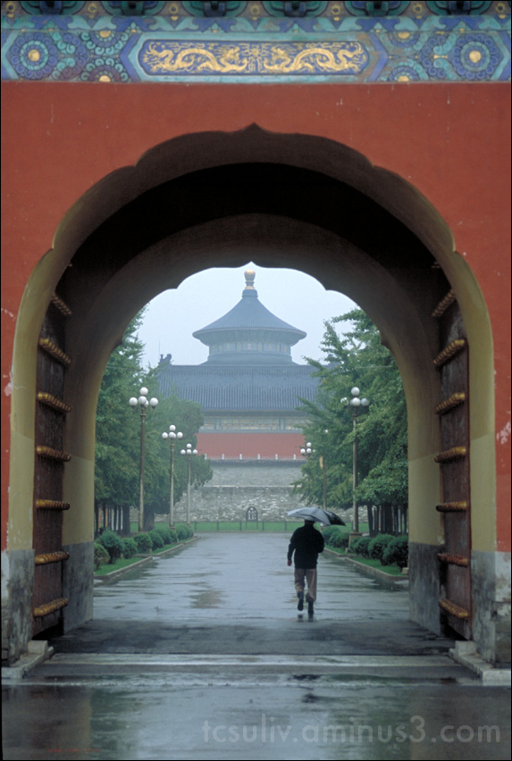 gate temple china beijing