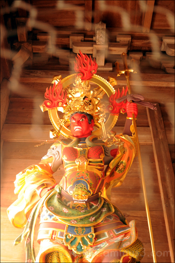 japanese red oni - red devil