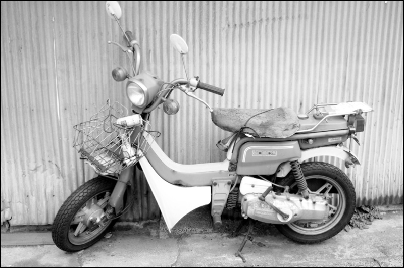 old japanese scooter