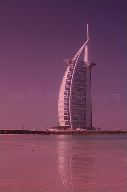 dubai's burj al arab, tower of arabia バージ・アル・アラブ