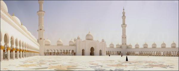 exterior, Sheikh Zayed Al Nahyan Grand Mosque