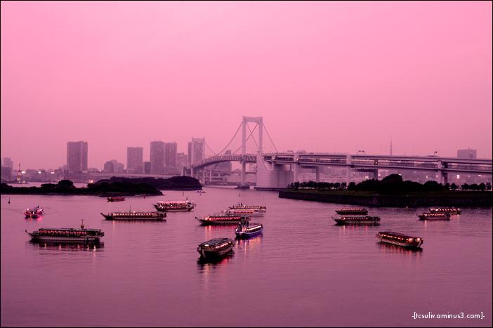 odaiba sunset お台場のサンセット (tokyo)