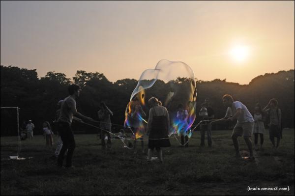 bubblewrapped lady (harajuku)