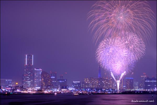 yokohama fireworks 花火 横浜