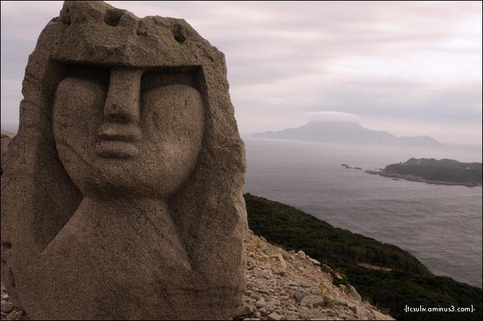 niijima 新島 moai モアイ