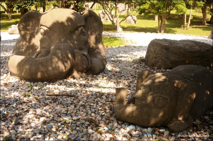 the stone zoo 石動物園 (niijima)