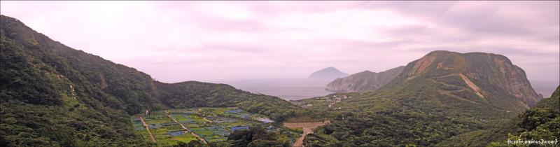 niijima 新島 panorama 全景 パノラマ