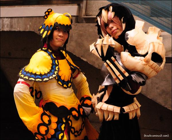 harajuku cosplay costumes at tokyo gameshow 2009