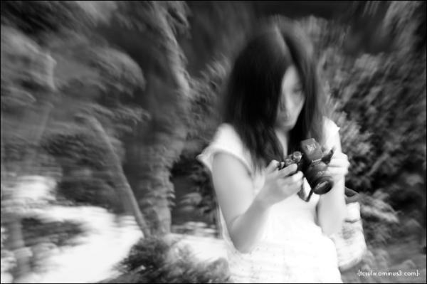 photo girl 写真ギャル (shinjuku gyoen)
