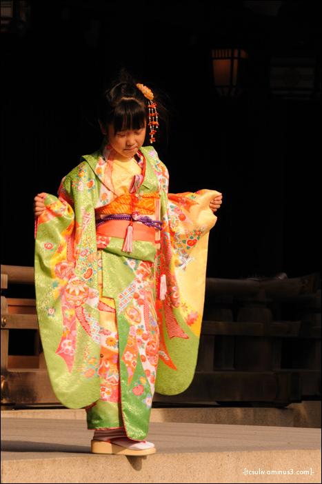 Shichi-go-san Girl 七五三ガール (Meiji-jingu)
