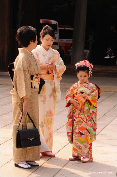 All dressed up in kimono (Meiji Shrine)