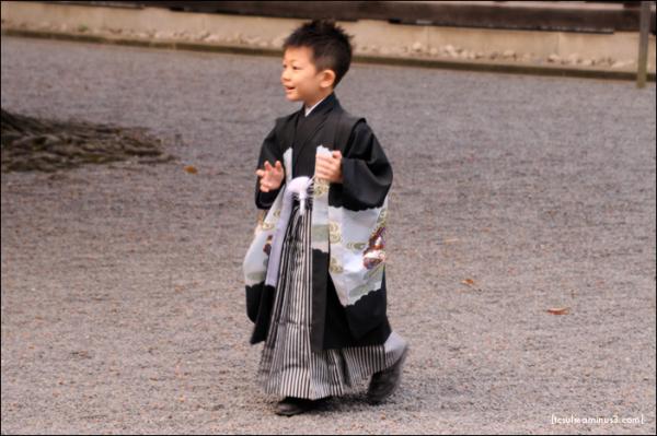 357 Runner 七五三走者 (Meiji-Jingu)