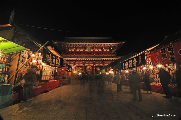 sensoji market