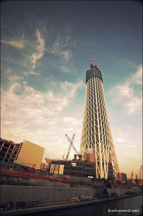 Tokyo Sky Tree 東京スカイツリー (Oshiage)