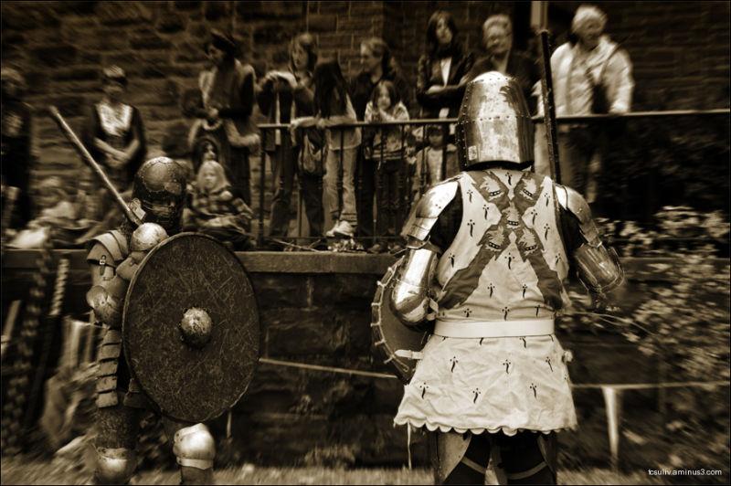 Viking vs. Knight (Albany, NY)