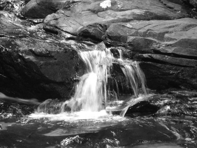 Quick shot of small falls