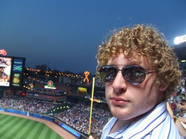 Taken at a Braves game last summer.