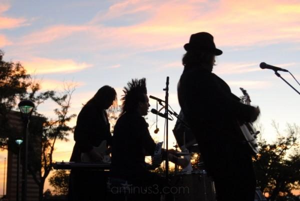 Rocking the Sunset...