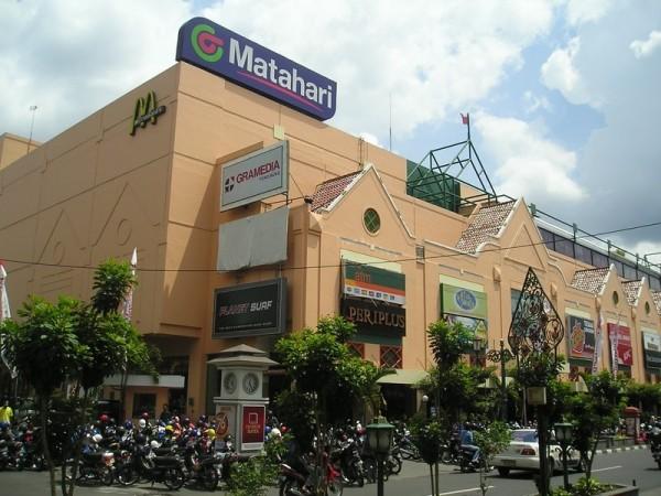 Matahari (sun) Malioboro mall