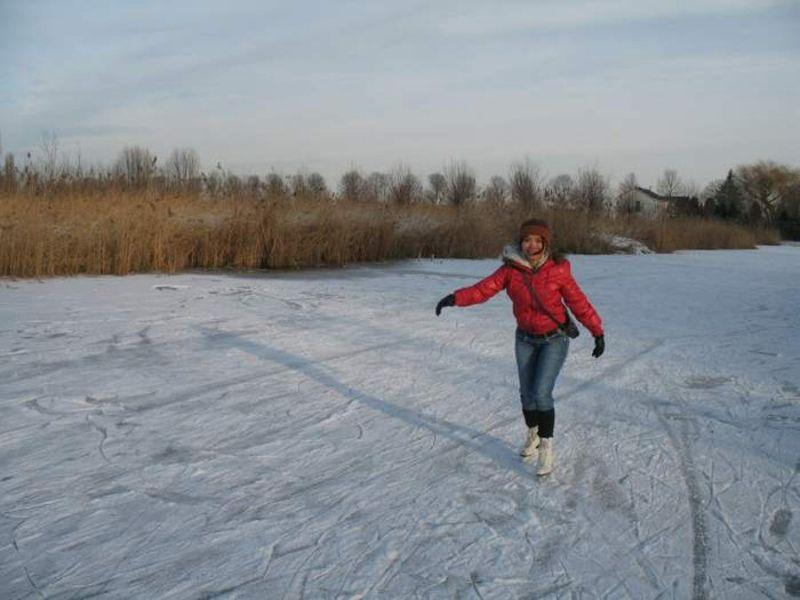 My 1st time schaatsen