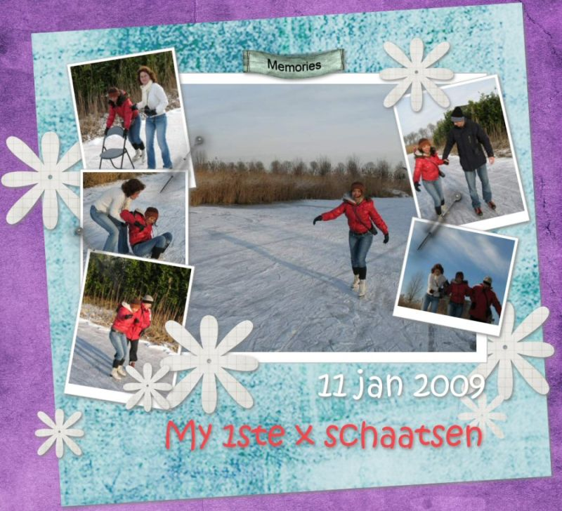 Collage me on ice
