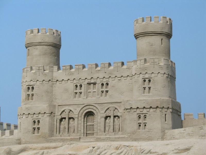 Zand kasteel
