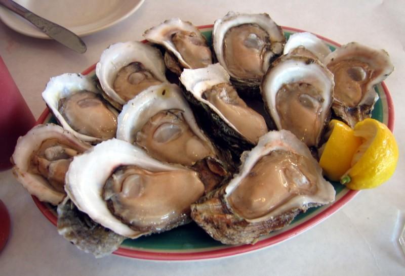 dozen half shells