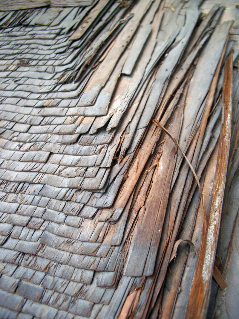 Hinoki Cypress Bark Roofing Architecture Photos A
