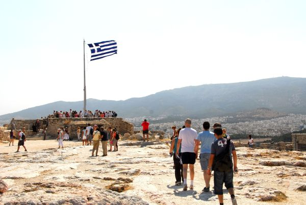 lookout onto athens