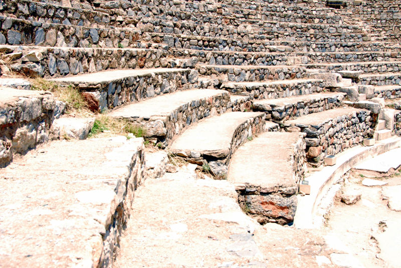 steps of the odeon