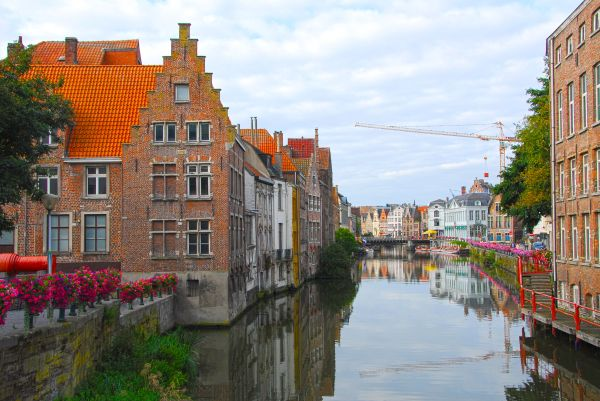 calm day at ghent
