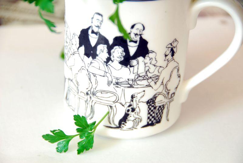 tea amongst the greenery